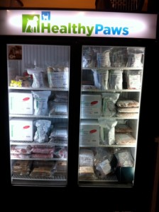 Healthy Paws freezer